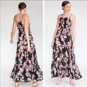 Free People Garden Party Floral Maxi Dress XS NWT